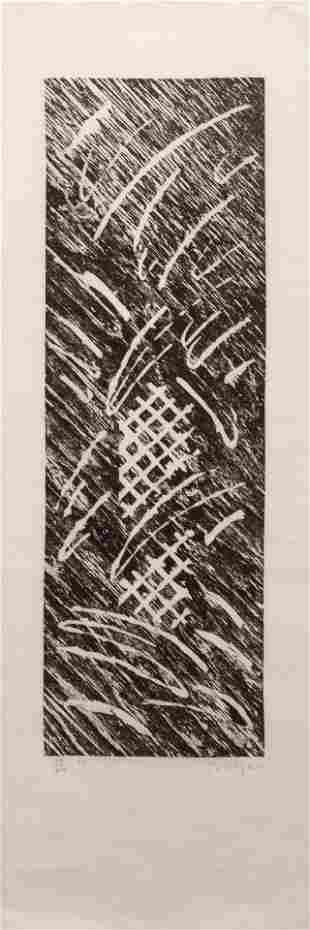 William Tillyer (British, b. 1938) No Title (Seven