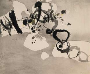 Jean Capdeville (French, 1913 - 2011) Dans La Clairiere