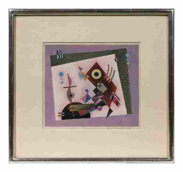 Emil Bisttram (American, 1895-1976) Untitled