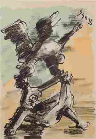 Jacques Lipschitz (American/French, 1891-1973) Untitled