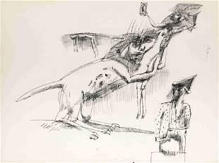 John Altoon (American, 1925-1969) Untitled