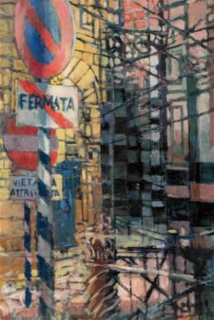 James Penney (American, 1910-1982) Street Near the