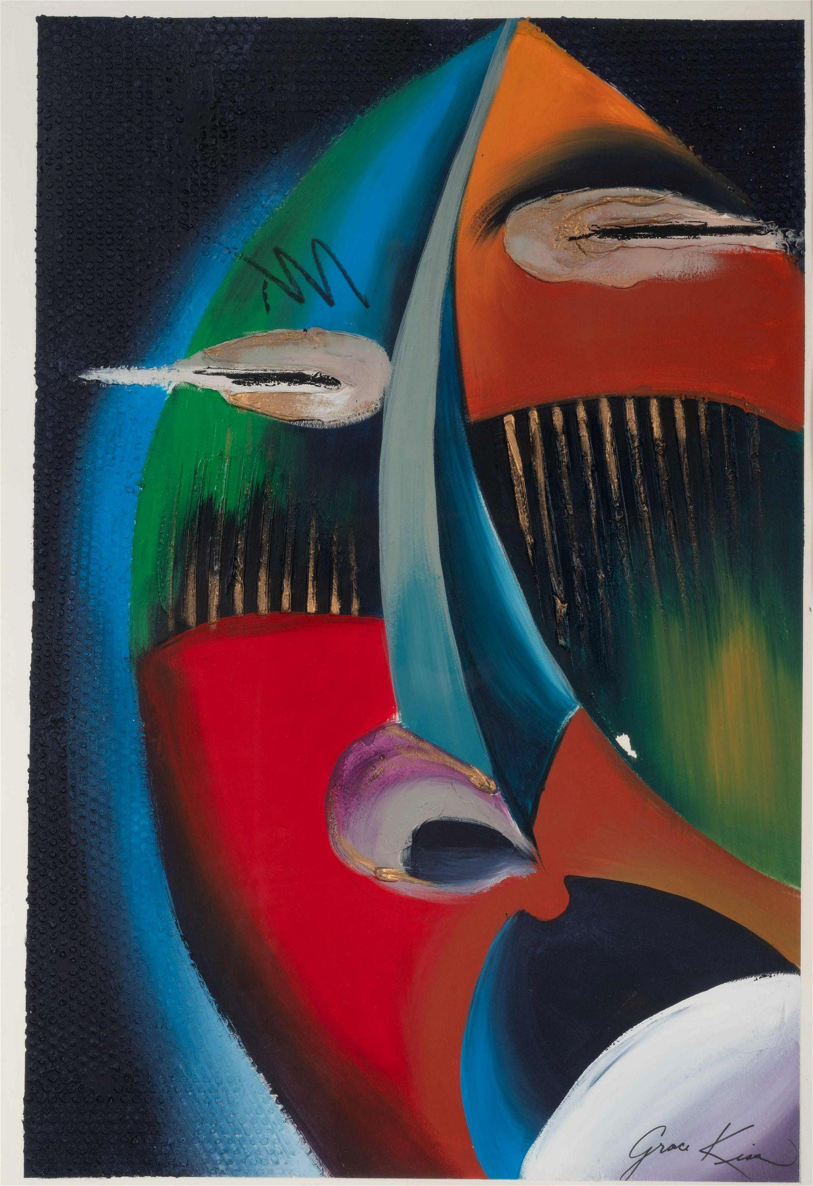 Grace Kisa (American, 20th century) Untitled