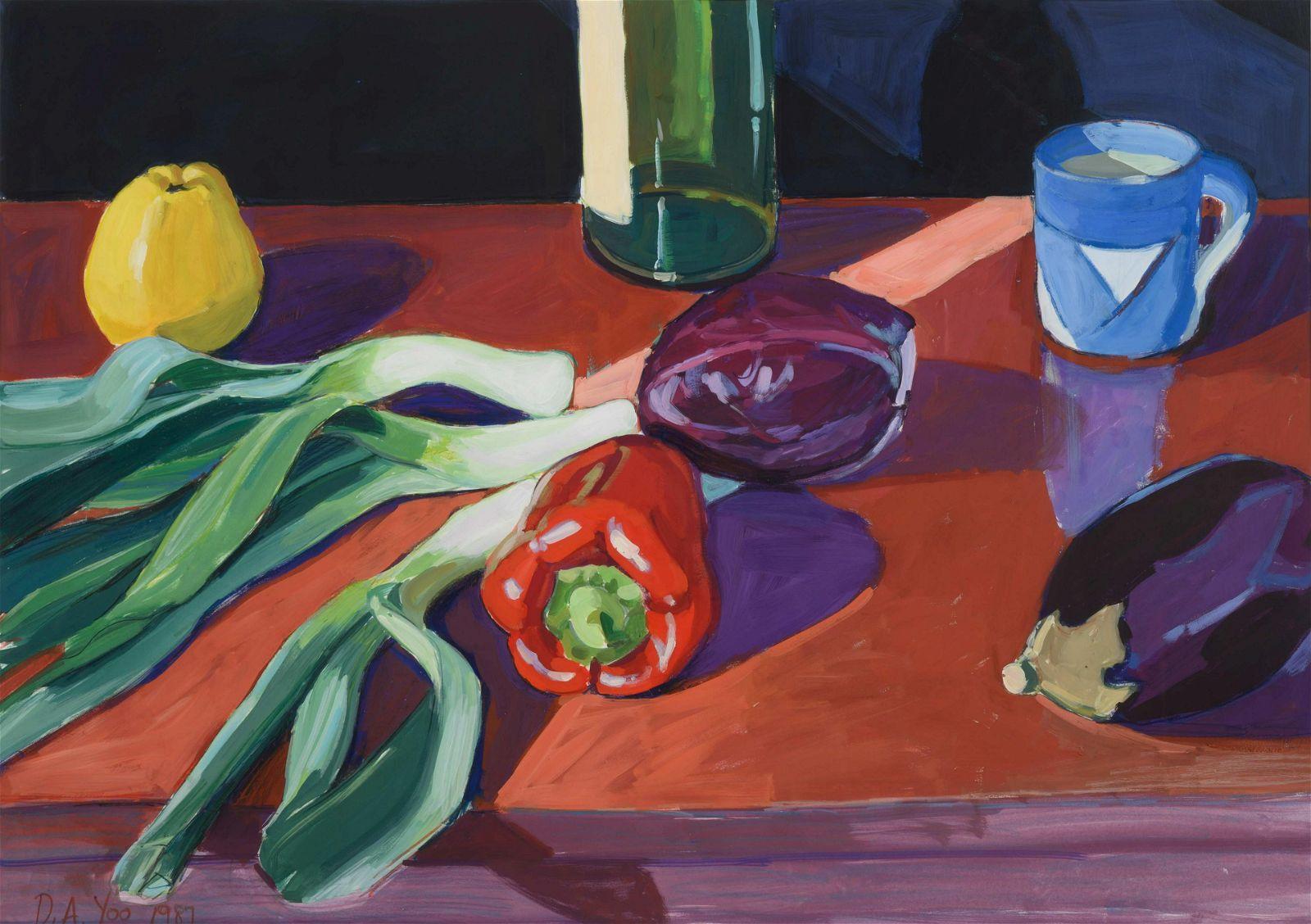 Debra A. Yoo (American, 20th century) Still Life