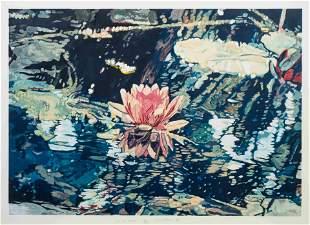 Joseph Raffael (American, b. 1933) Lily for Lannis,