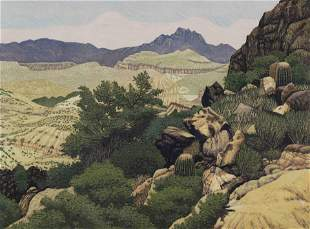 Gordon Mortensen (American, b. 1938) Near Tortilla