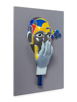 Andreas v. Weizsacker (German, 1956-2008) Maske Nr. 6
