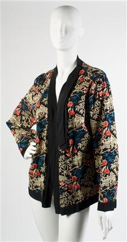 A Chinese Embroidered Jacket,