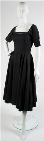 A Claire McCardell Black Dress,