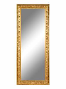 An Empire Style Giltwood Mirror