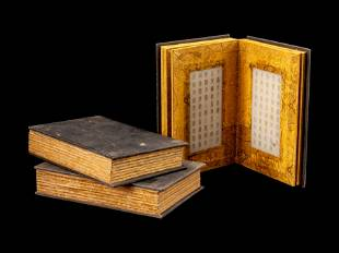 Three Chinese Marble Albums