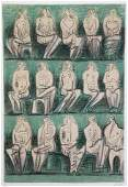 Henry Moore British 18981896 15 Seated Females