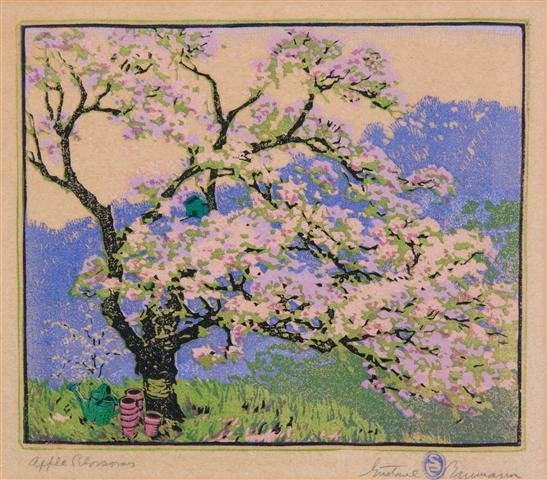 Gustave Baumann, (American/German, 1881-1971), Apple Bl