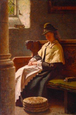 1: Francis John Wyburd, (British, 1826-1893), Sunday Mo