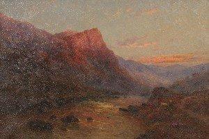 3: Alfred de Breanski, Jr., (British, 1877-1945), A Mou