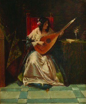 8: Attributed to Florent Willem, (Belgian, 1823-1905),