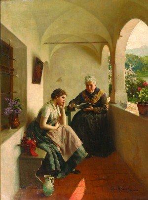 10: Albert Ritzberger, (Austrian, 1853-1915),