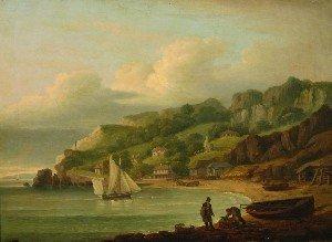 13: Thomas Luny, (British, 1759-1837), Babbecombe Beach