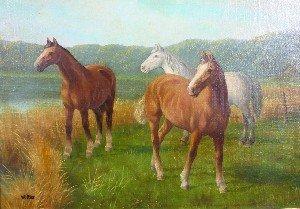 15: Wolmer Zier, (Danish, 1910-1990), Untitled, Three H