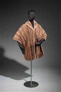 J. Mendel Natural Mink Fur Wrap
