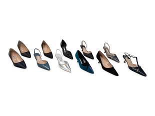 Eleven Pairs of Manolo Blahnik Heels