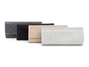Four Judith Leiber Ritz Fizz Crystal Clutch Bags