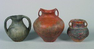 420: A Group of Chinese Pottery Archaic Style Vessels,