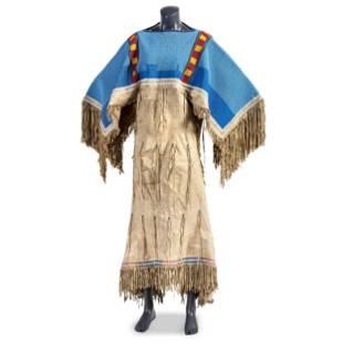 Shoshone Beaded Hide Dress