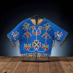 Plateau Beaded Dress Yoke