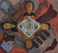 Rodolfo Morales (Mexican, 1925-2001) Sin Titulo, c.