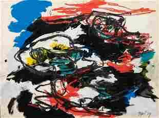 Karel Appel (Dutch, 1921-2006) Untitled, 1959