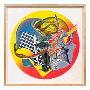 Frank Stella (American, b. 1936 Calnagor (from