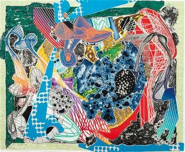 Frank Stella (American. b. 1936) Swoonaire (from