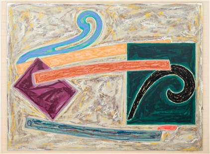 Frank Stella (American, b. 1936) Inaccessible Island