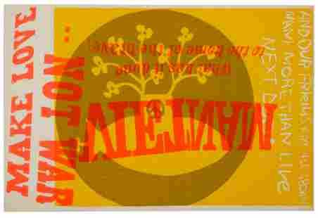 Corita Kent (American, 1918-1986) Vietnam, Phil and