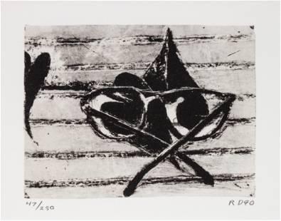 Richard Diebenkorn (American, 1922-1993) Untitled (from