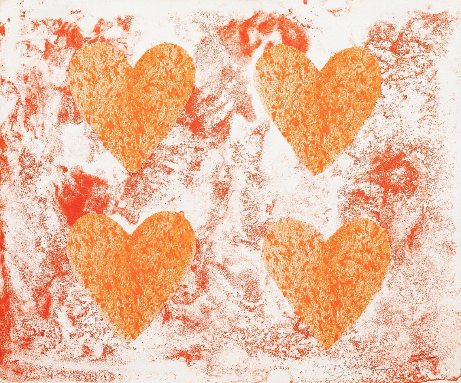 Jim Dine (American, b. 1935) Dutch Hearts, 1970