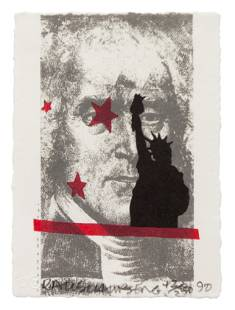 Robert Rauschenberg (American, 1925-2008) Spackle (from