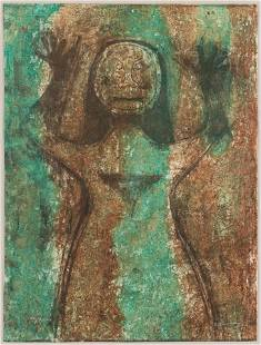 Rufino Tamayo (Mexican, 1899-1991) Mujer con los brazos