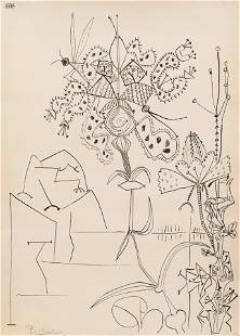 Pablo Picasso (Spanish, 1881-1973) Plantes Tropicales,