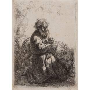 Rembrandt Harmenszoon van Rijn (Dutch, 1606-1669) Saint