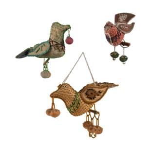 Haudenosaunee Beaded Bird Whimsies