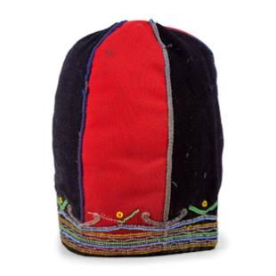 Naskapi Beaded Wool Cap