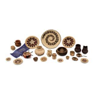 A Collection of Pomo, Tohono-O'odham, and Navajo