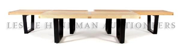 A Set of Three Benches, George Nelson for Herman Miller