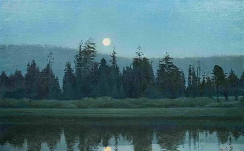 Bruce Brainard (American, b. 1962) Moonrise, 2001
