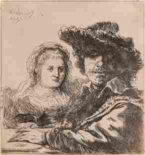 Rembrandt van Rijn (Dutch, 1606-1669) Self Portrait