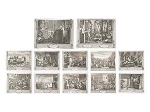 William Hogarth (British, 1697-1764) Industry and
