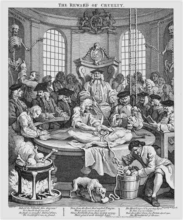 William Hogarth (British, 1697-1764) The Four Stages of