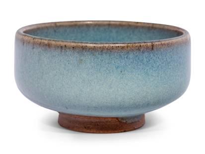 A ChineseJunyaoStoneware Bubble Bowl